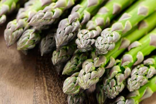 foods with glutathione include raw asparagus