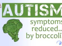 New study showing autism symptoms reduced by broccoli sprout?