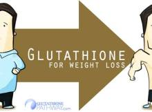 Does glutathione help with weight loss?