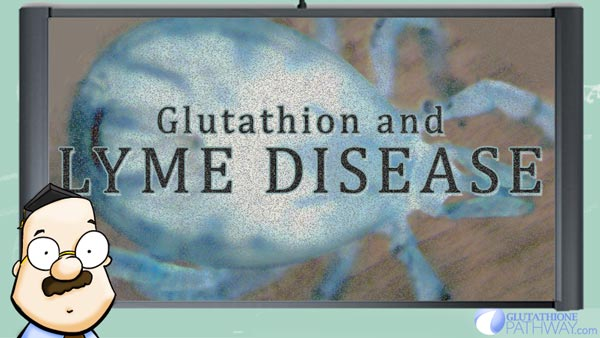 Glutathioen as an alternative treatment to chronic lyme disease