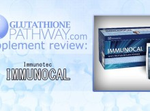Immunocal from Immunotec a whey protein supplement to boost glutathione or gsh levels.