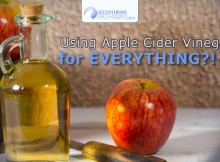 Apple Cider Vinegar has health and beauty benefits researched for years and ends up being used for everything.