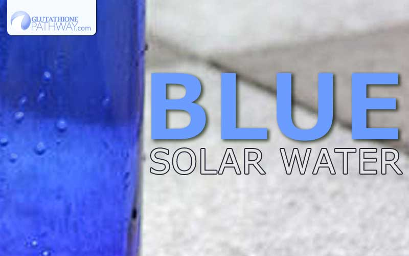 Does Blue Solar Water work? What is the science behind the health benefits.